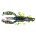 "Baby Craws 1.5"" Huckleberry x 10pc"