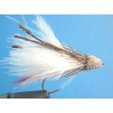 Fly - Marabou Muddler White #10