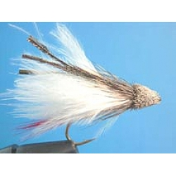 Fly - Marabou Muddler White #8