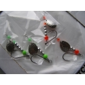 Spin It Salmo Lures Red