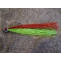 Snapper Fly - Lime Red 6/0